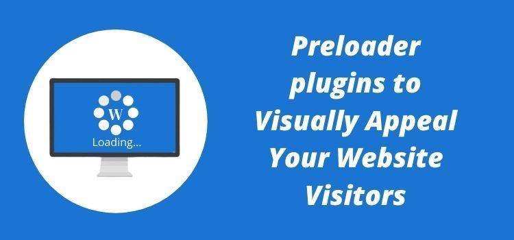 WordPress Preloader plugins