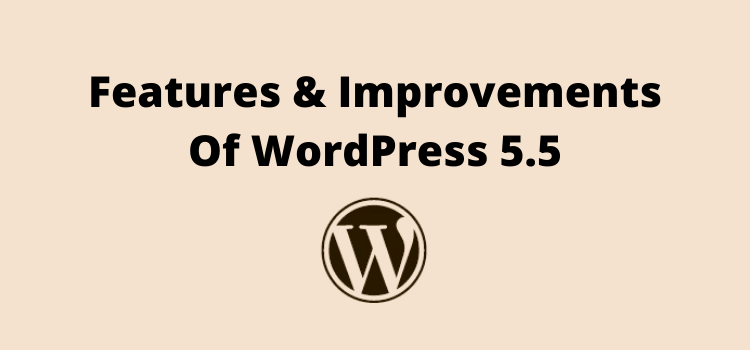 WordPress 5.5 - features and improvements